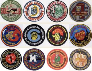 Northern Soul Wigan Casino Badges