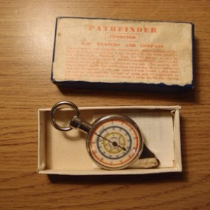 Pathfinder map measure and compass