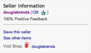 eBay favourite seller
