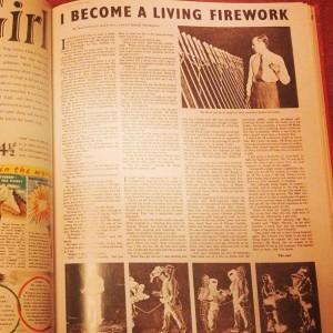 I become a living firework