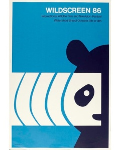 Tom Eckersley WWF Panda poster