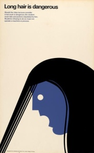 Tom Eckersley Long Hair is Dangerous