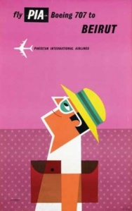 Tom Eckersley travel poster