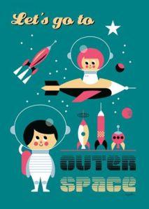 Ingela Arrhenius space poster