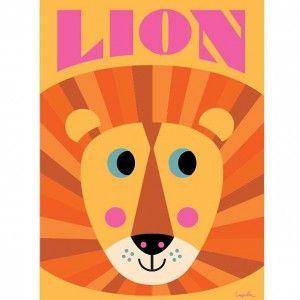 Ingela Arrhenius Lion poster