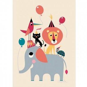 Ingela Arrhenius Animal Party poster