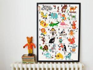 Kay Vincent alphabet print